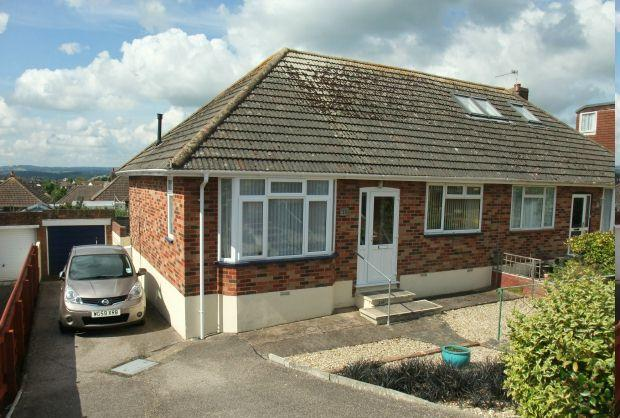 2 Bedrooms Semi Detached Bungalow for sale in Willow Avenue, EXMOUTH