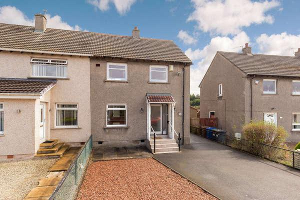 2 Bedrooms End Of Terrace House for sale in 16 Moncur Road, Kilwinning, KA13 7LD