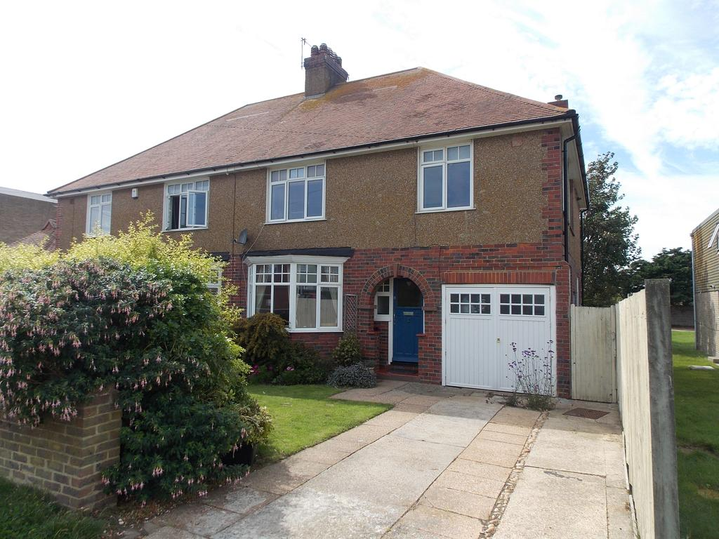 4 Bedrooms Semi Detached House for sale in Central Avenue, Telscombe Cliffs, East Sussex