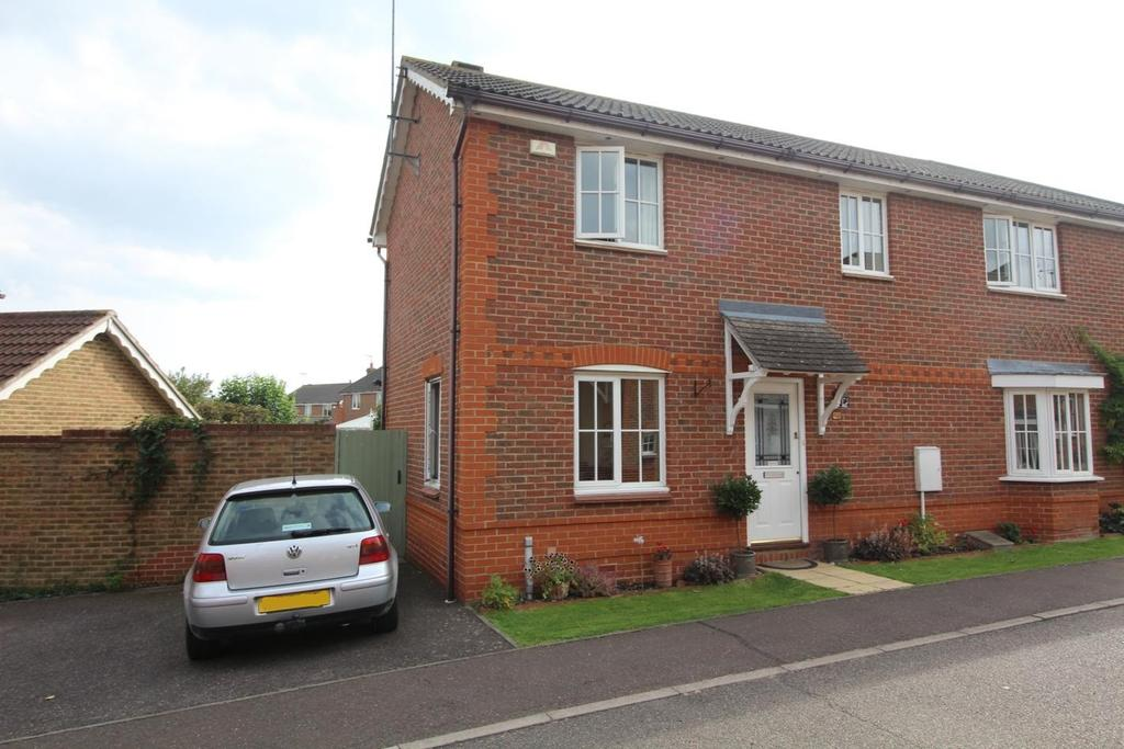 3 Bedrooms Semi Detached House for sale in Silvester Way, Springfield, Chelmsford, Essex, CM2