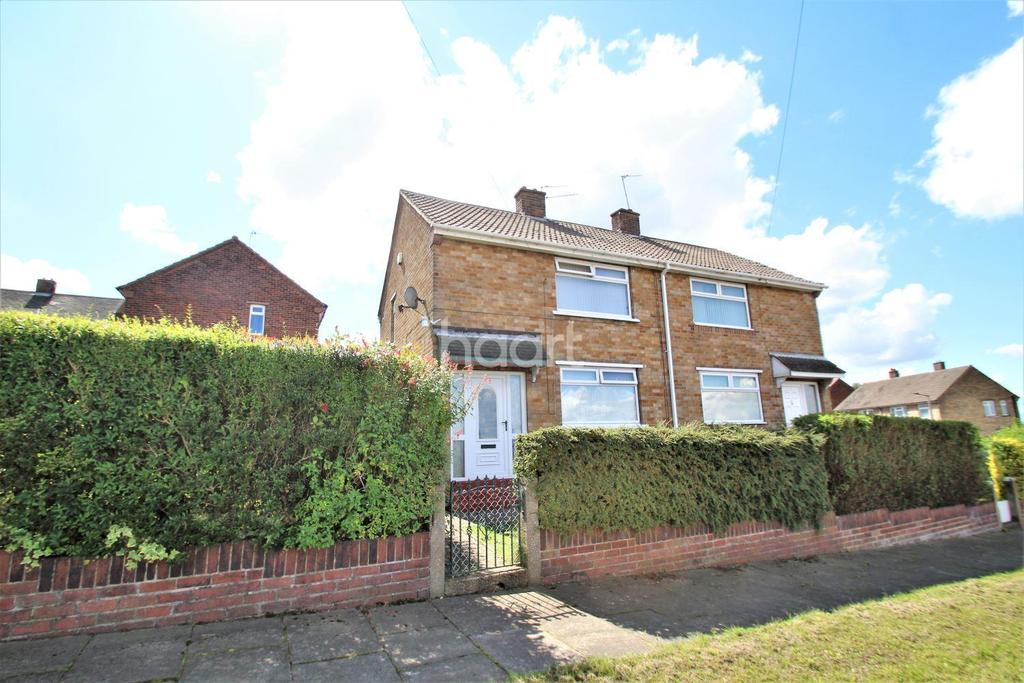 2 Bedrooms Semi Detached House for sale in Thomas Street, Edlington, Doncaster