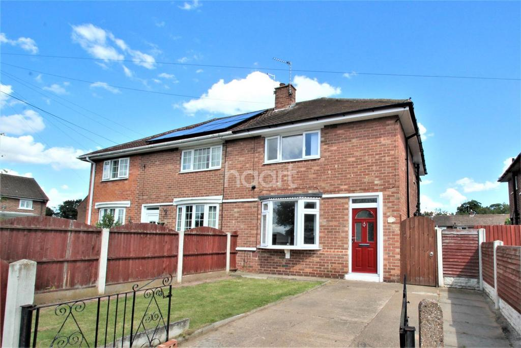 2 Bedrooms Semi Detached House for sale in Aldesworth Road, Cantley, Doncaster