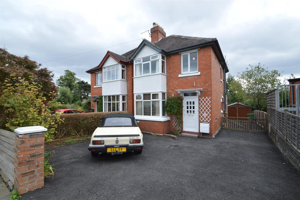 3 Bedrooms Semi Detached House for sale in 38 Brook Street, Belle Vue, Shrewsbury,SY3 7QR