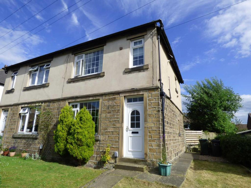 2 Bedrooms Semi Detached House for sale in Highroyd, Lepton, Huddersfield, West Yorkshire, HD8