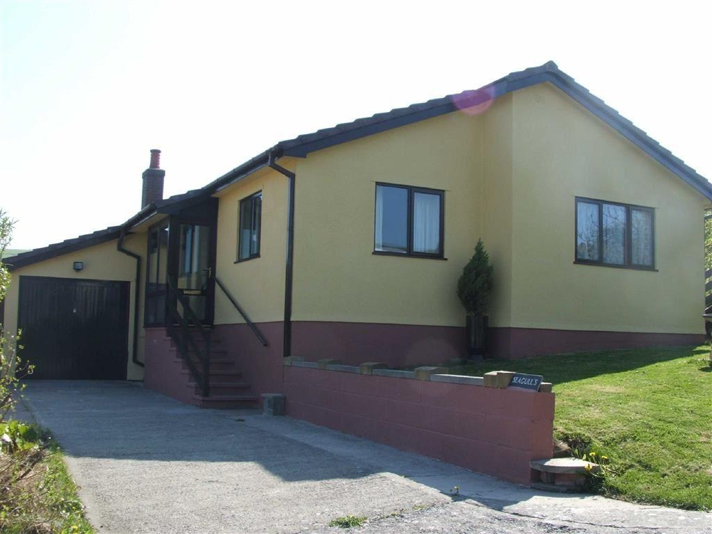 3 Bedrooms Detached Bungalow for sale in The Seagulls, Ffordd Y Fulfran, Borth, Ceredigion, SY24