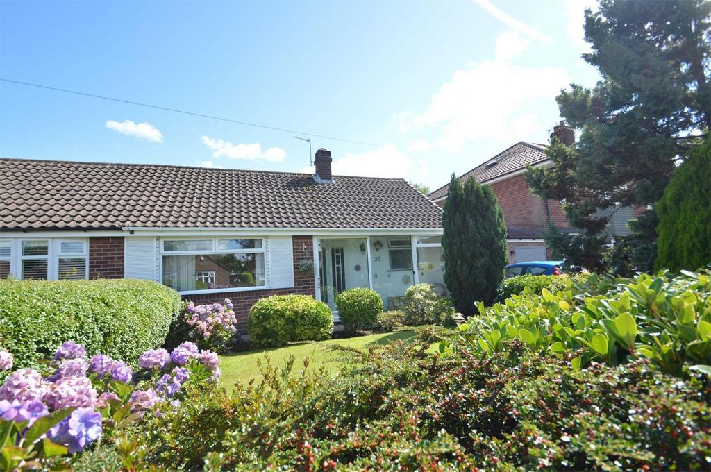 2 Bedrooms Semi Detached Bungalow for sale in Barwell Road, SALE, Cheshire