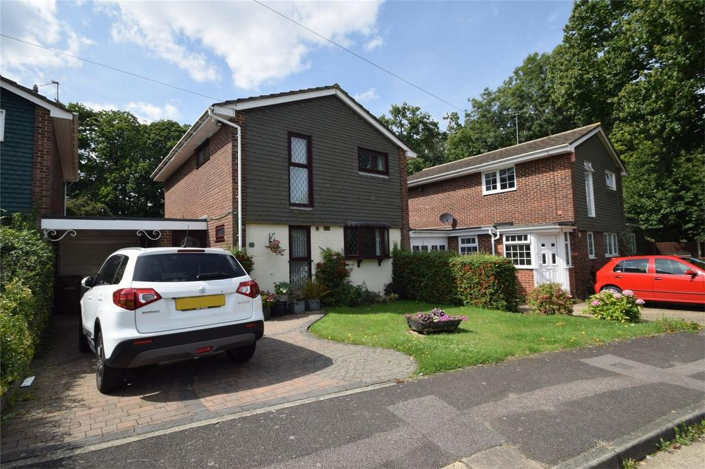 3 Bedrooms Link Detached House for sale in Dixwell Close, Parkwood, Kent