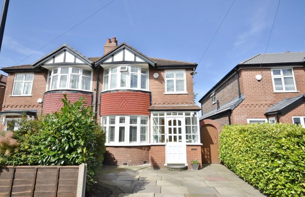 2 Bedrooms Semi Detached House for sale in Saint George's Avenue, Timperley, Altrincham