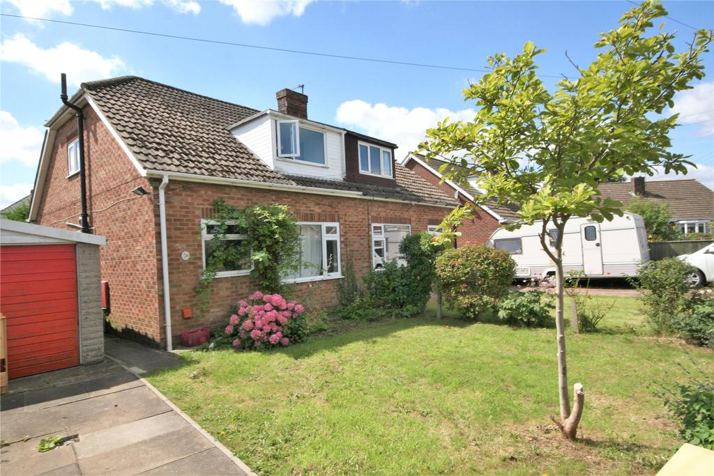 3 Bedrooms Semi Detached Bungalow for sale in Stanford Close, Laceby, DN37
