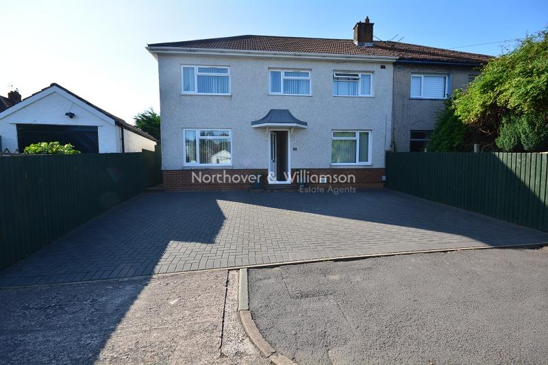 4 Bedrooms Semi Detached House for sale in Exford Crescent, Llanrumney, Cardiff. CF3