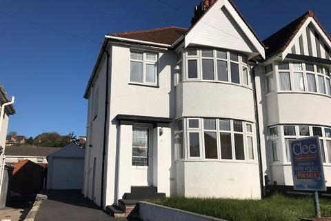 3 bedroom semi-detached house for sale - Harlech Crescent, Sketty, Swansea, City And County of Swansea.