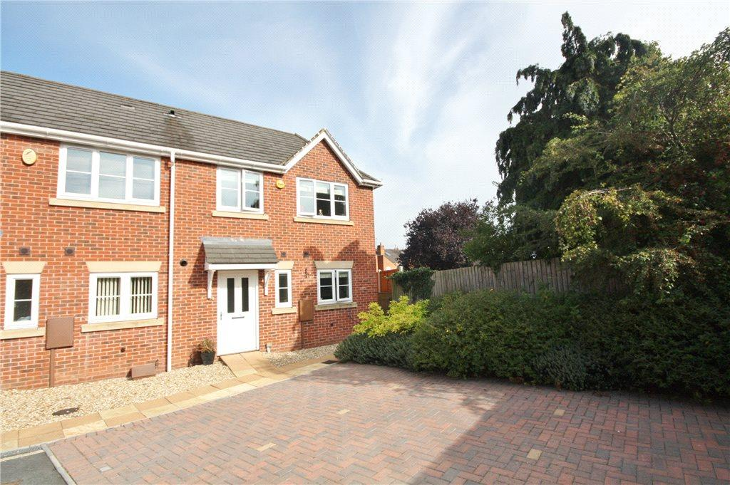 3 Bedrooms End Of Terrace House for sale in Whinfield Gardens, Worcester, Worcestershire, WR3