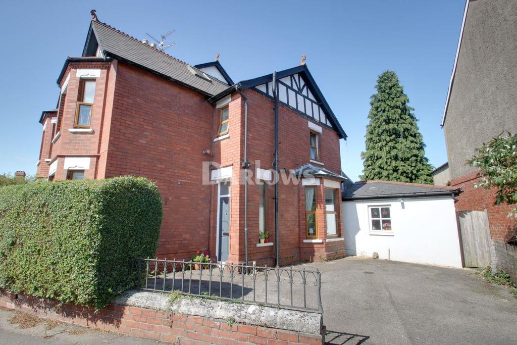 3 Bedrooms Semi Detached House for sale in Ty-Mawr Road, Llandaff North