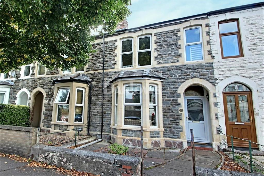 3 Bedrooms Terraced House for sale in Stacey Road, Roath, Cardiff