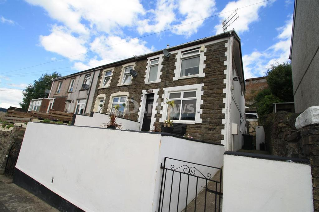 2 Bedrooms End Of Terrace House for sale in Pantypwdyn Road, Abertillery, Gwent
