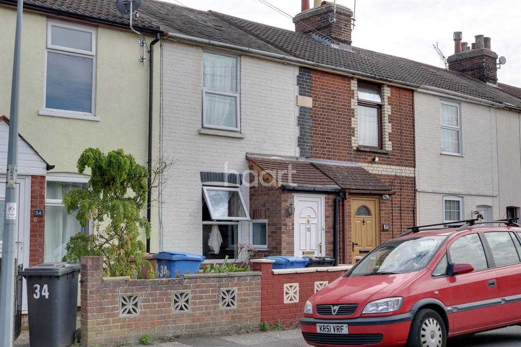 2 Bedrooms Terraced House for sale in Belvedere Road, Ipswich