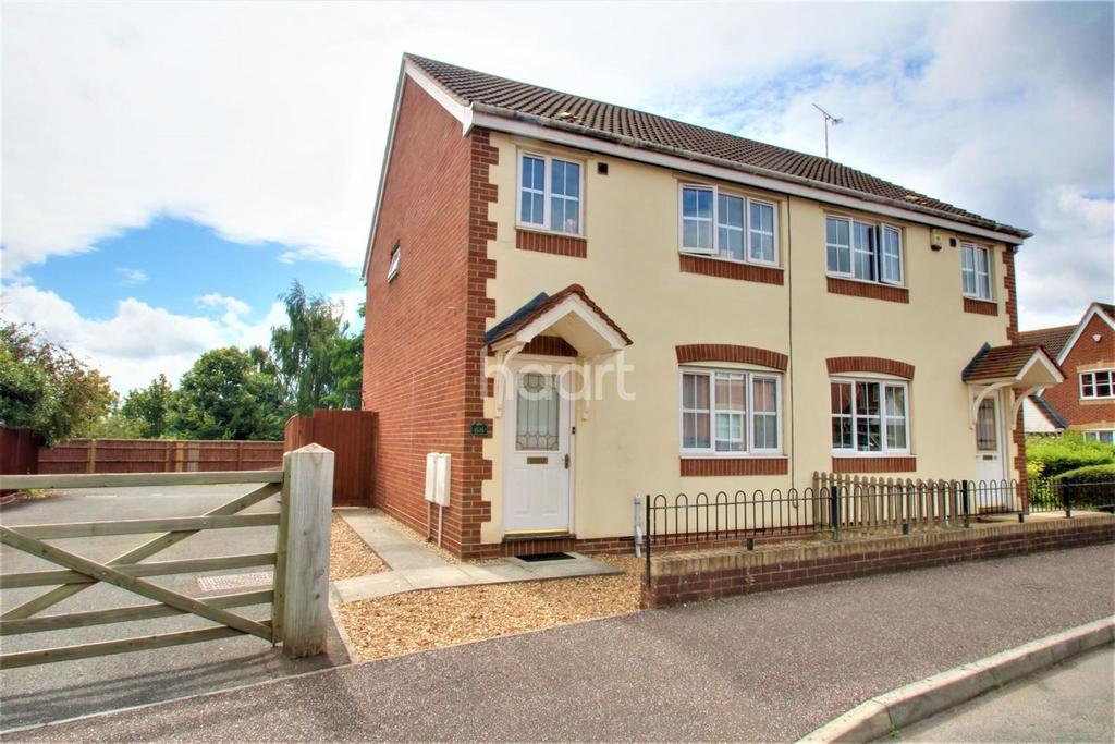 3 Bedrooms Semi Detached House for sale in Cashford Gate, Taunton