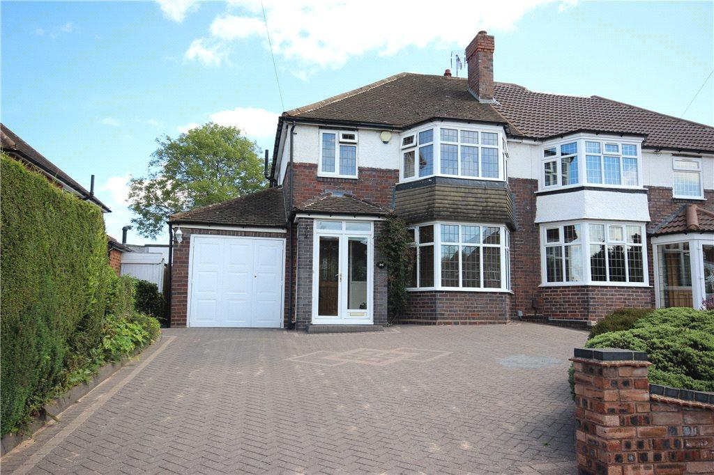 3 Bedrooms Semi Detached House for sale in Stonor Park Road, Solihull, West Midlands, B91