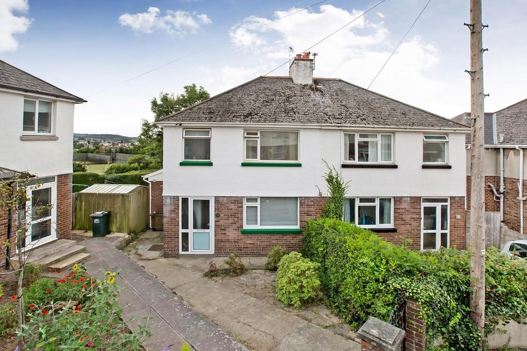 3 Bedrooms Semi Detached House for sale in Netley Road, Newton Abbot