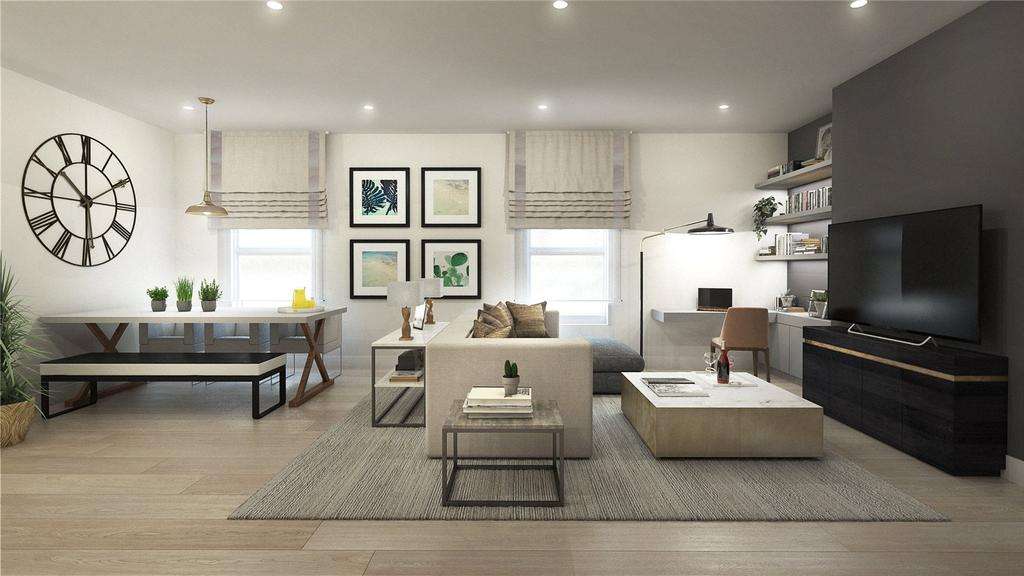 3 Bedrooms Flat for sale in High Street Colliers Wood, London, SW19