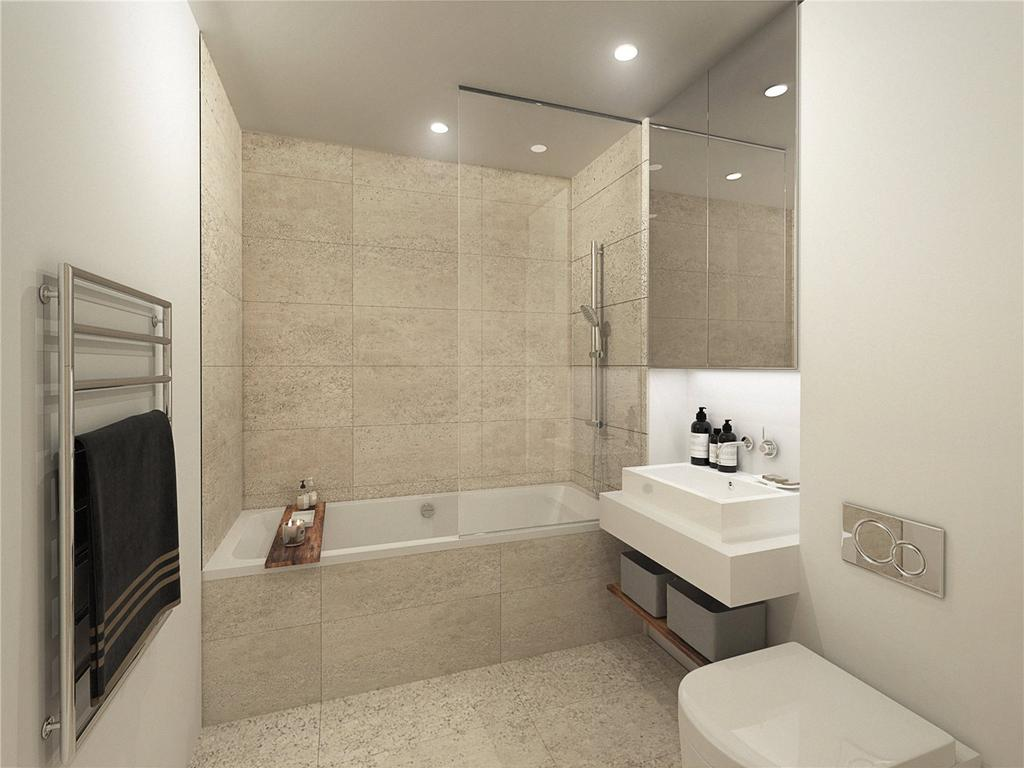 1 Bedroom Flat for sale in High Street Colliers Wood, London, SW19