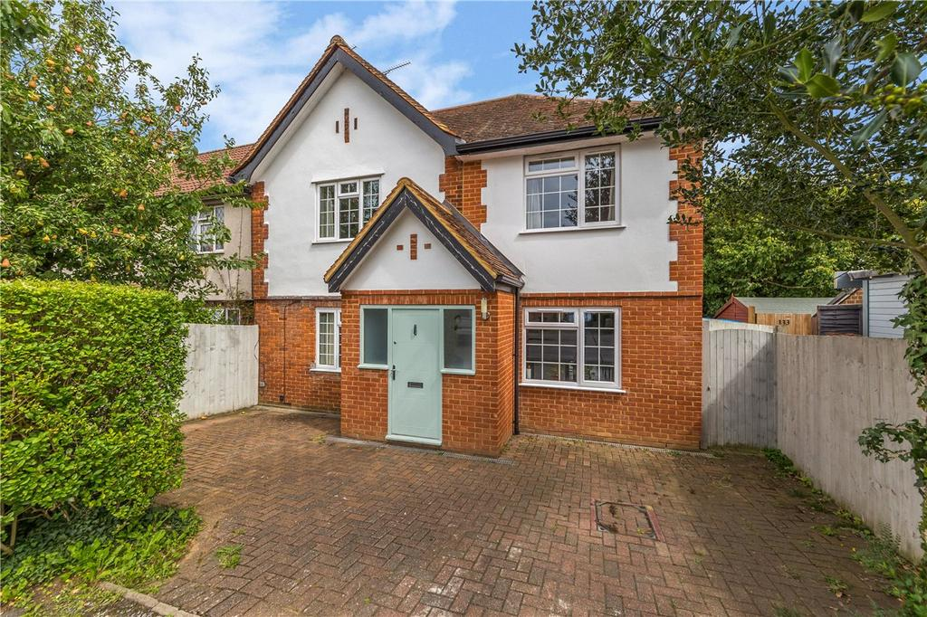 4 Bedrooms End Of Terrace House for sale in Westfield Drive, Harpenden, Hertfordshire