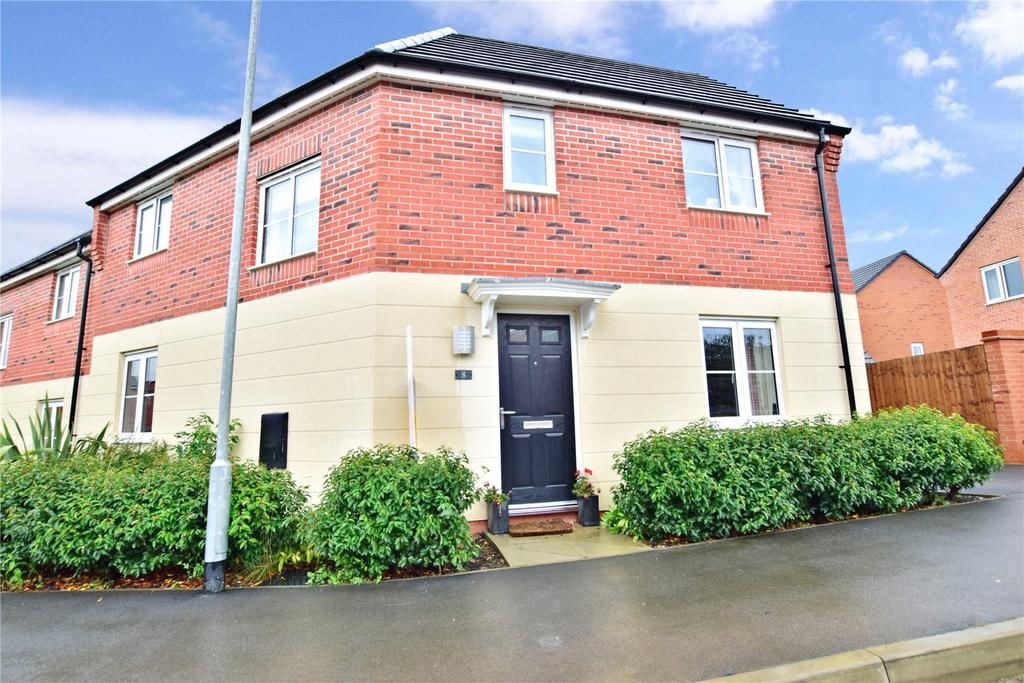 3 Bedrooms Semi Detached House for sale in Brockington Road, Melton Mowbray, Leicestershire