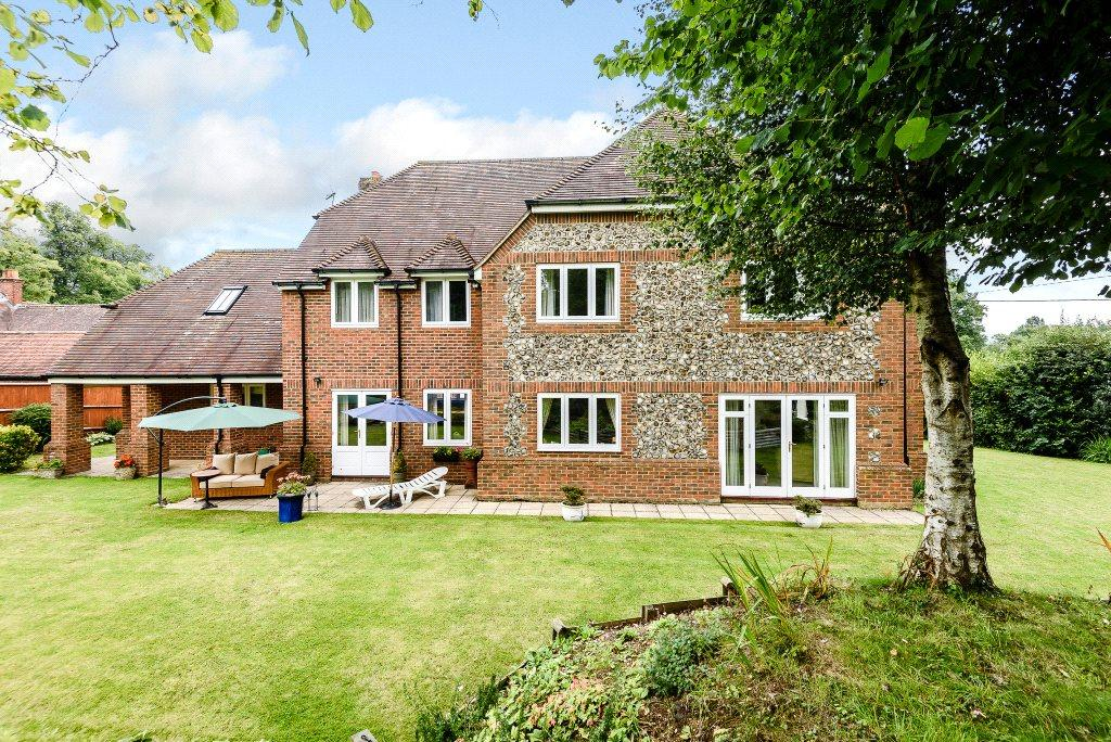 4 Bedrooms Detached House for sale in Hurstbourne Priors, Whitchurch, Hampshire, RG28