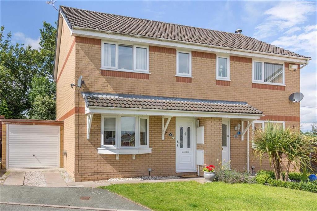 3 Bedrooms Semi Detached House for sale in Vermeer Close, Connahs Quay, Deeside, Flintshire