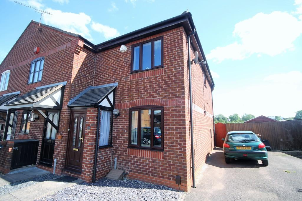 2 Bedrooms Semi Detached House for sale in Wensum Close, Hinckley