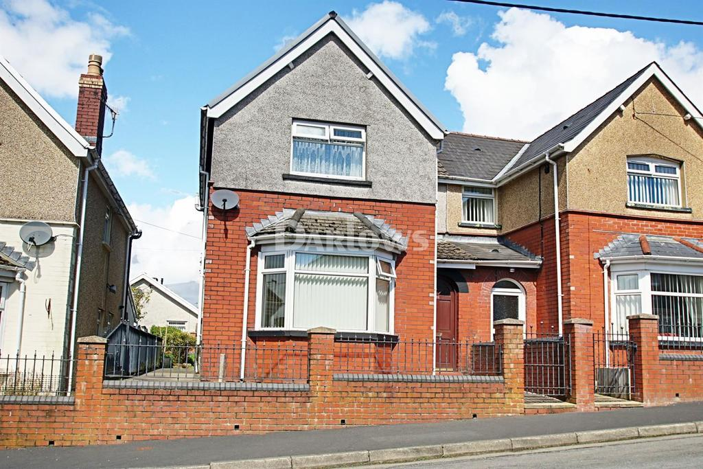 2 Bedrooms Semi Detached House for sale in Garden city, Rhymney