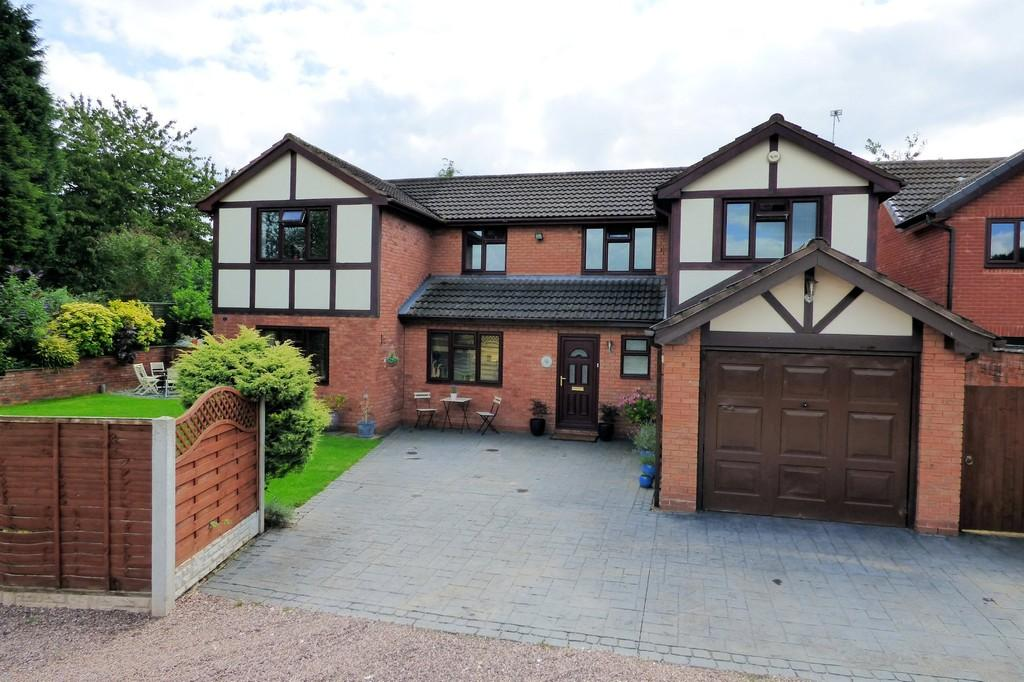 5 Bedrooms Detached House for sale in Bells End Road, Walton-on-Trent