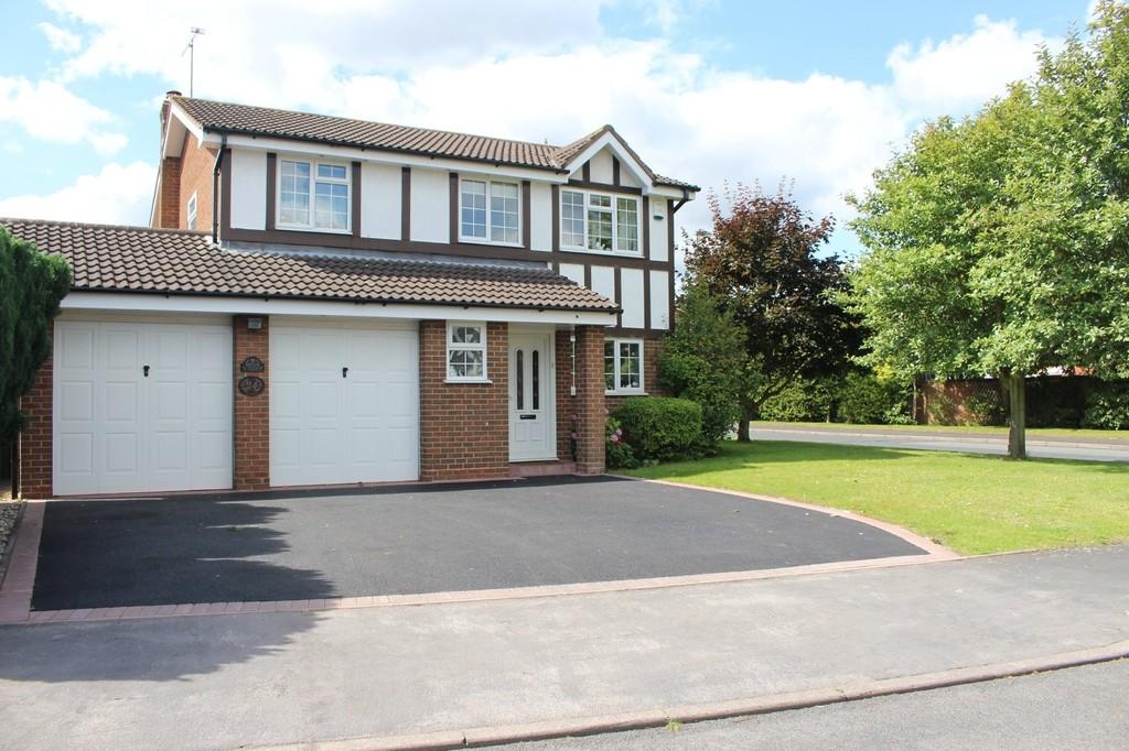 4 Bedrooms Detached House for sale in Gable Croft, Lichfield