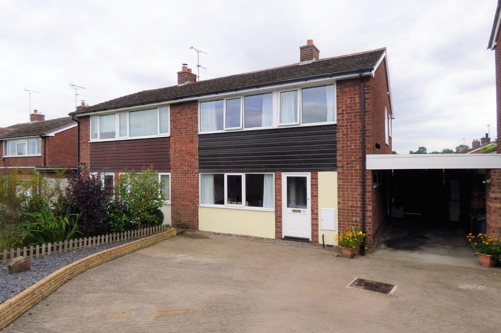 3 Bedrooms Semi Detached House for sale in Denstone, Uttoxeter