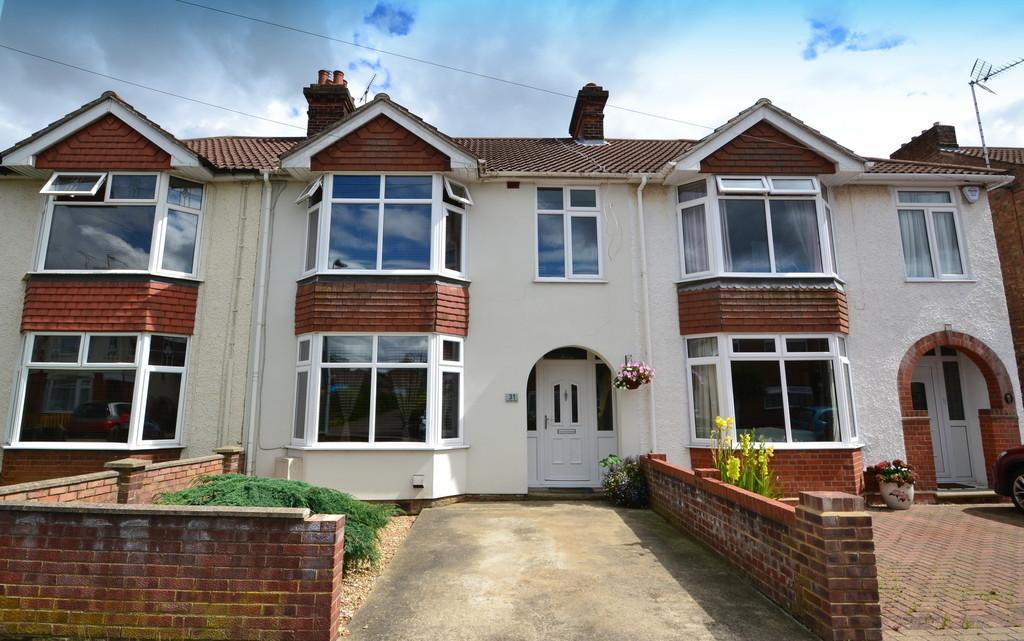 3 Bedrooms Terraced House for sale in Henslow Road, Ipswich, IP4 5EQ