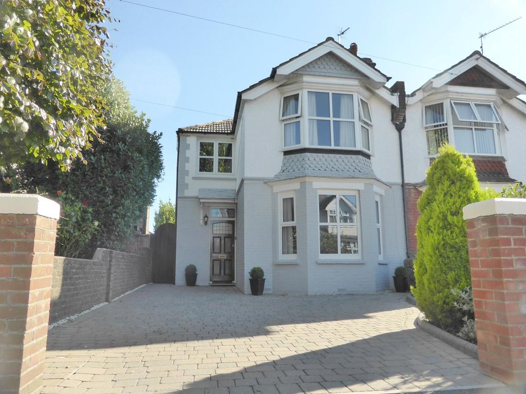 4 Bedrooms Semi Detached House for sale in Ringwood Road, Eastbourne, BN22