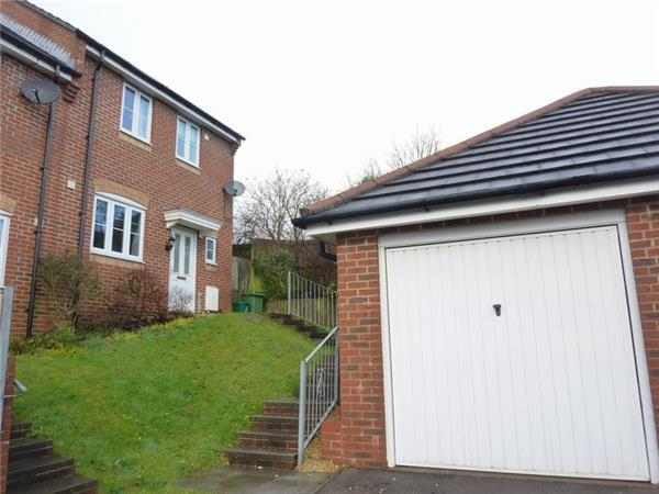3 Bedrooms Semi Detached House for sale in Larchwood, Tonyrefail, CF39 8JJ