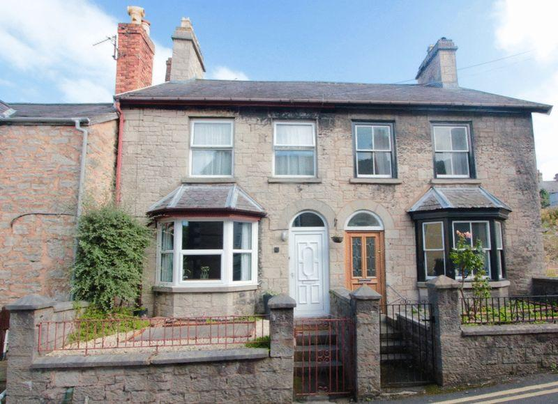 2 Bedrooms Semi Detached House for sale in Beacons Hill, Denbigh