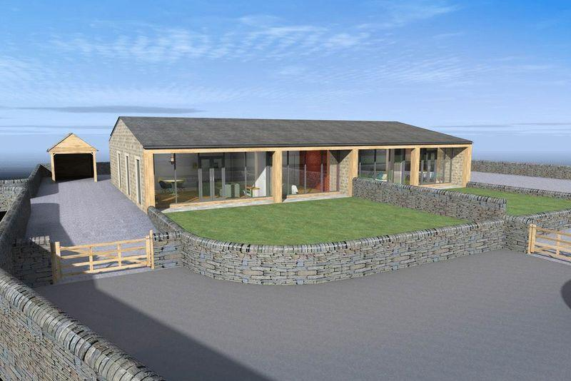 3 Bedrooms Semi Detached Bungalow for sale in Plot 1, Lower Mead, Saddleworth Road, Greetland