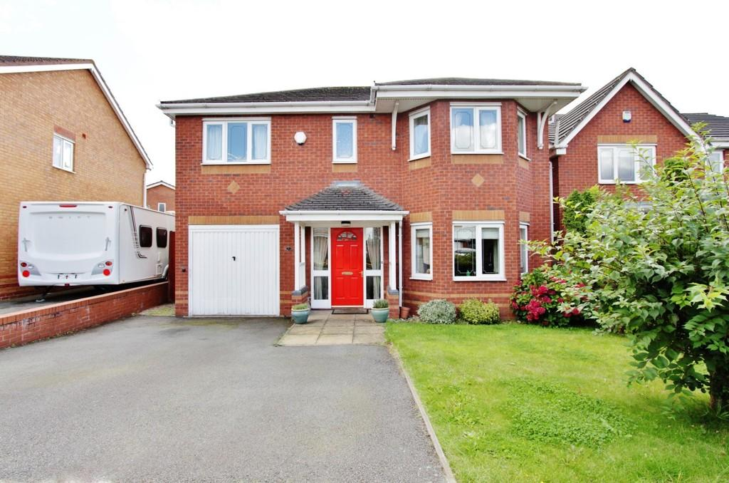 4 Bedrooms Detached House for sale in Petard Close, Two Gates