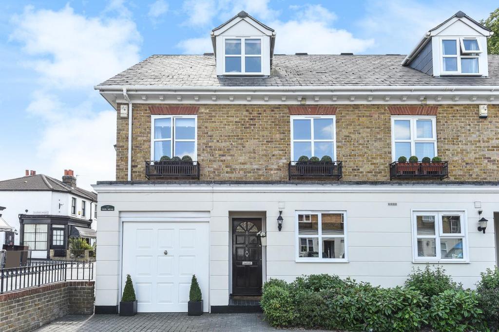 4 Bedrooms End Of Terrace House for sale in Park Road, Chislehurst