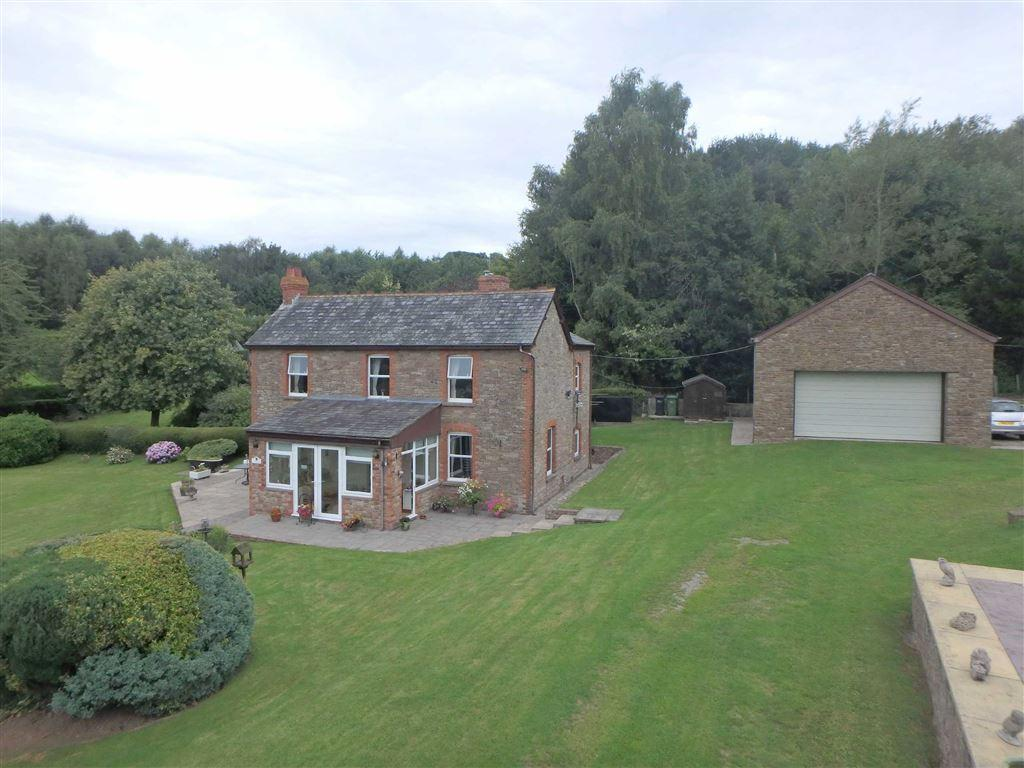 3 Bedrooms Detached House for sale in Little Birch, Hereford