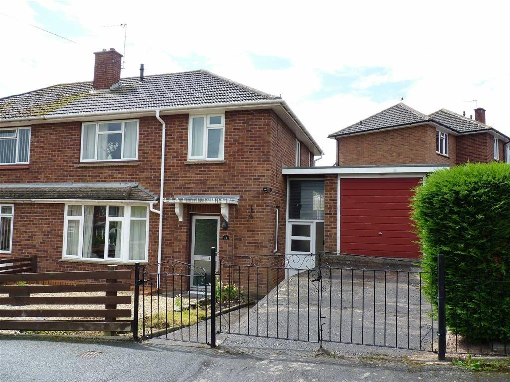 3 Bedrooms Semi Detached House for sale in Arkwright Close, Hereford