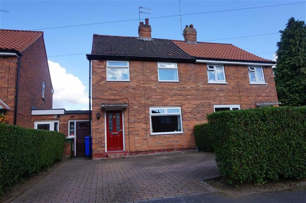 2 Bedrooms Semi Detached House for sale in Plantation Drive, North Ferriby, North Ferriby, East Yorkshire, HU14