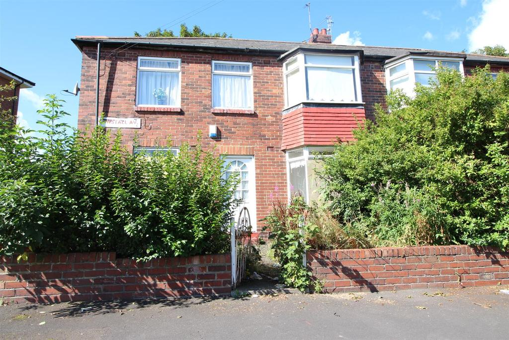2 Bedrooms Flat for sale in Tunstall Avenue, Newcastle Upon Tyne