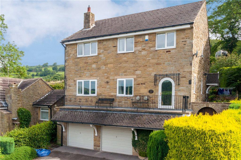 4 Bedrooms Detached House for sale in Panorama Close, Pateley Bridge, Harrogate, North Yorkshire