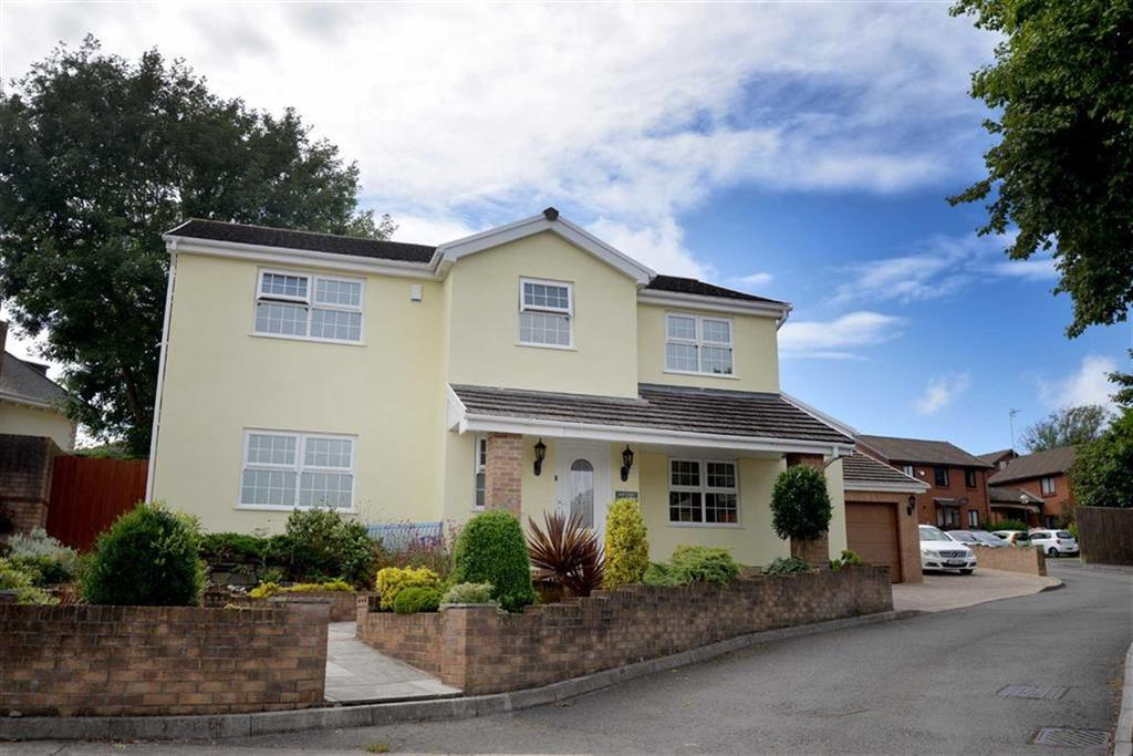 4 Bedrooms Detached House for sale in Llwynderw Close, West Cross, Swansea