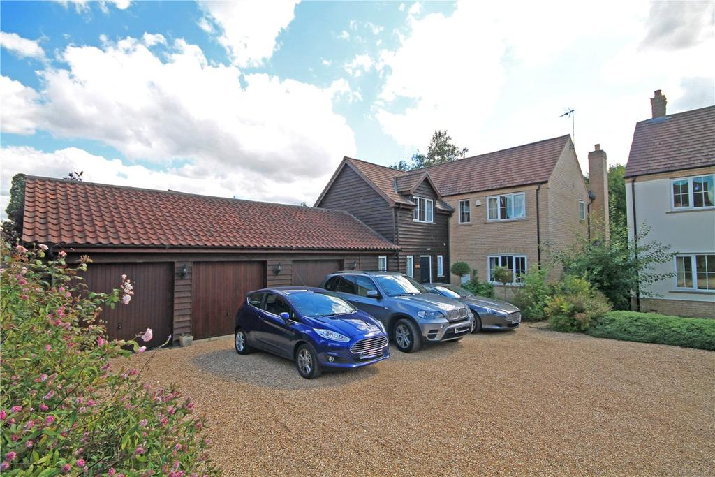 5 Bedrooms Detached House for sale in St. Andrews Court, Kimbolton, Huntingdon, Cambridgeshire, PE28