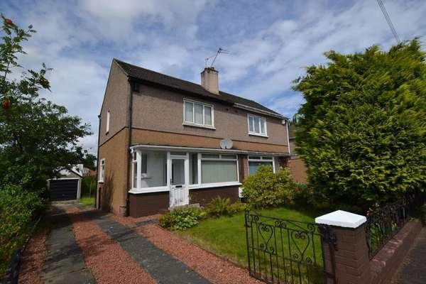 2 Bedrooms Semi-detached Villa House for sale in 34 Rylands Drive, Glasgow, G32 0SB