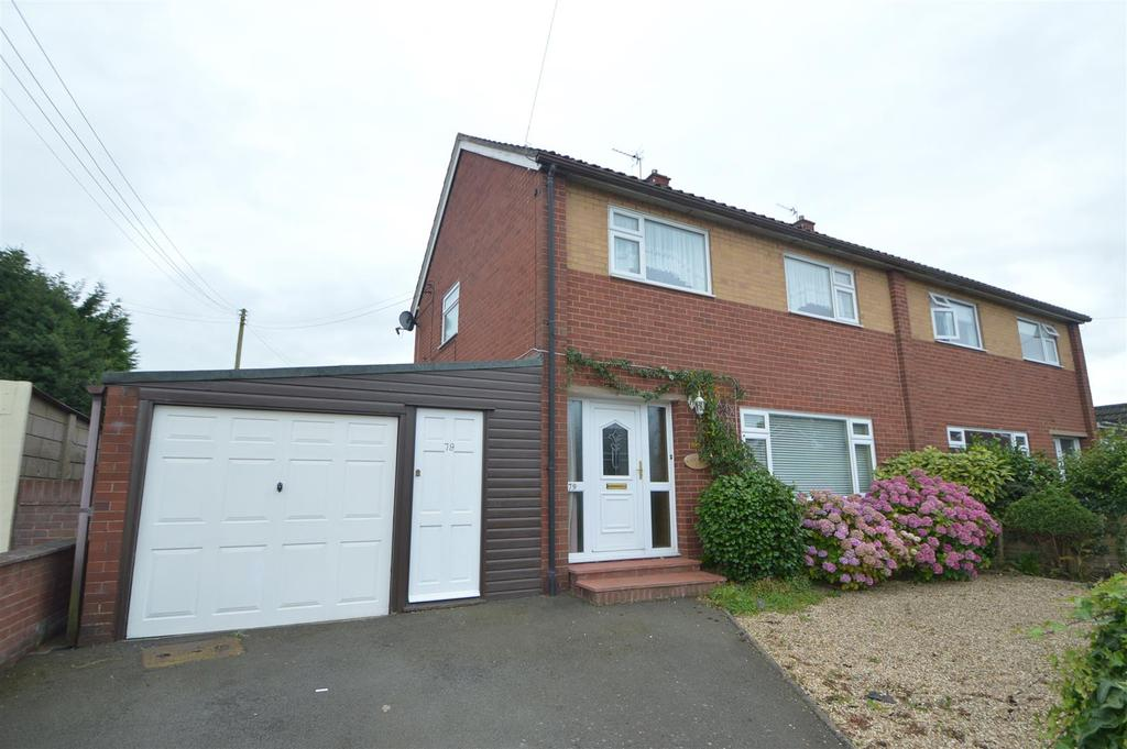 3 Bedrooms Semi Detached House for sale in 79 Lythwood Road, Bayston Hill, Shrewsbury SY3 0NQ